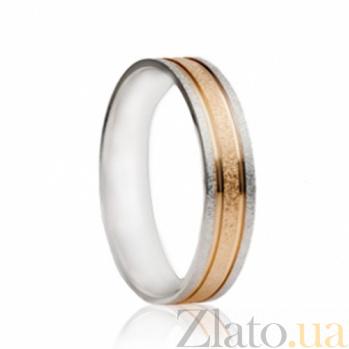 Обручальное кольцо из комбинированного золота Душевный порыв SG--4411643
