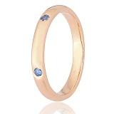 Серебряное кольцо Анвиль с позолотой