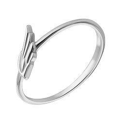 Золотое кольцо в белом цвете 000021041