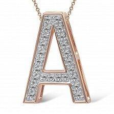 Кулон из золота с бриллиантами Анна