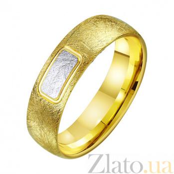 Золотое обручальное кольцо Нежное утро TRF--431422