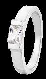 Кольцо из серебра с фианитом Савитри