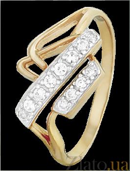 Кольцо из серебра с фианитами Дориана 000025640