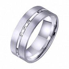 Золотое обручальное кольцо Рай там где ты