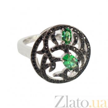 Серебряное кольцо с цирконием Ведана 3К543-0059