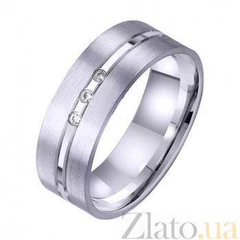 Золотое обручальное кольцо Рай там где ты TRF--4221715