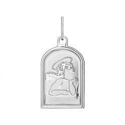 Серебряная ладанка Ангелочек 000148431