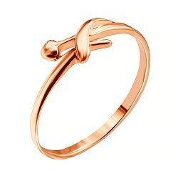 Серебряное кольцо с позолотой 000035157