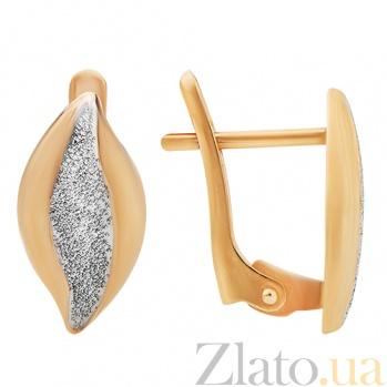 Золотые серьги фигурные Ирина TNG--470418