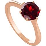 Золотое кольцо с гранатом Брайди