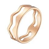 Кольцо в красном золоте Ажур