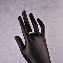 Серебряное кольцо Дениза с фианитами