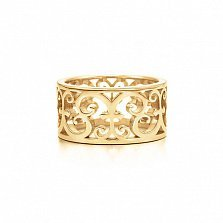 Кольцо из желтого золота RUBEDO