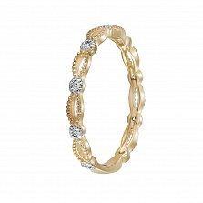 Кольцо Эжени из желтого золота с бриллиантами