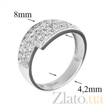 Кольцо из белого золота с бриллиантами Соблазн R0308/бел/бр