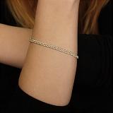 Серебряный браслет Саманта