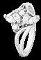 Серебряное кольцо с фианитами Виллемина 000025835