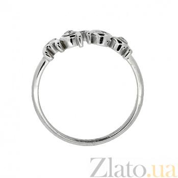 Серебряное кольцо с бриллиантами Baby ZMX--RD-6933-Ag_K