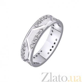 Золотое обручальное кольцо Паула TRF--422212