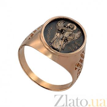 Золотое кольцо Архангел Михаил VLT--К1000