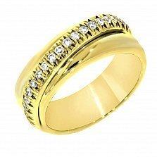 Золотое кольцо Вероника с бриллиантами