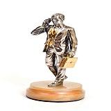 Серебряная статуэтка Босс