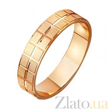 Золотое обручальное кольцо Моя любовь TRF--411051
