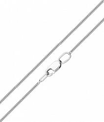 Золотая цепочка Мириам в белом цвете панцирного плетения