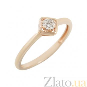 Золотое кольцо с бриллиантами Клития 1К257-0016
