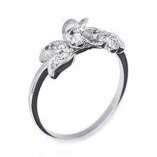 Кольцо из белого золота с бриллиантами Алевтина