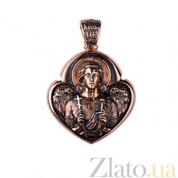 Золотая ладанка Ангел-хранитель ONX--п01673
