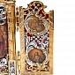 Серебряный складень Киевская Русь с бриллиантами 1496