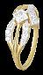 Кольцо из серебра с фианитами Линдита 000025574