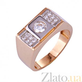 Золотое кольцо с фианитами Лэйтон ONX--к00900