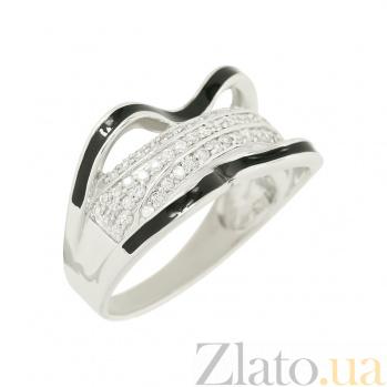 Серебряное кольцо с фианитами Ванесса 3К731-0006