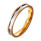 Золотое обручальное кольцо Прекрасное мгновение
