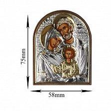 Икона Святое семейство, 58х75мм