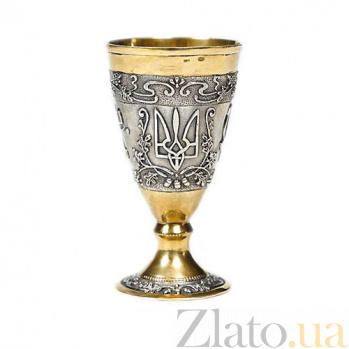 Серебряная рюмка Украинская 1033