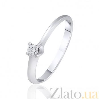 Золотое кольцо с бриллиантом Агора EDM-КД7473/1