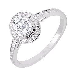 Золотое кольцо с бриллиантами 000045915