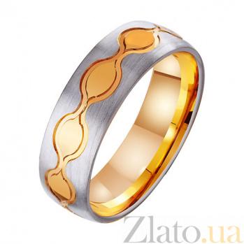 Золотое обручальное кольцо Наслаждение TRF--411429