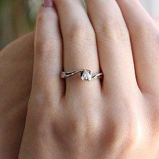Золотое кольцо Аллер с бриллиантом