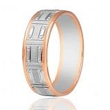 Золотое обручальное кольцо Счастье