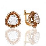 Золотые серьги Мирабелла