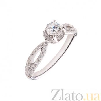 Золотое кольцо с бриллиантами Сюзет 1К054-0026