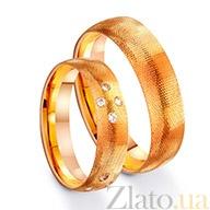 Золотое обручальное кольцо Нежность TRF--411274