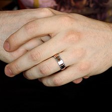 Золотое обручальное кольцо Две судьбы