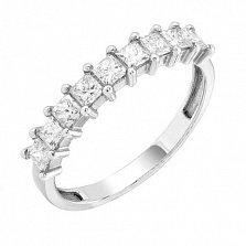Золотое обручальное кольцо Амина с бриллиантами