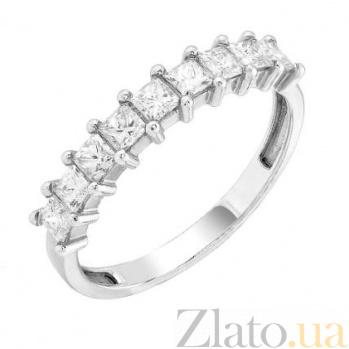 Золотое обручальное кольцо Амина с бриллиантами 000017652