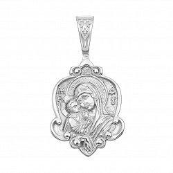 Серебряная ладанка Богородица 000135380
